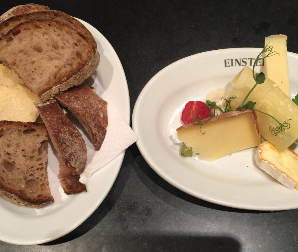 Einstein Kafe küçük boy peynir tabağı